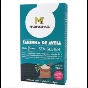 Farinha de Aveia sem glúten 220g Monama
