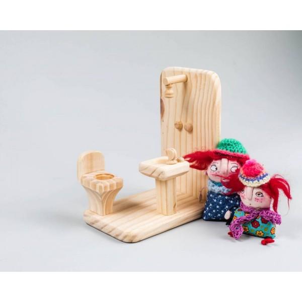 Banheiro para casinha de boneca - Olly Toys