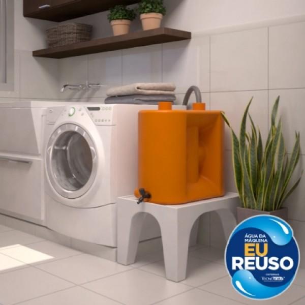 Kit Reúso de Água para Máquina de Lavar Roupa