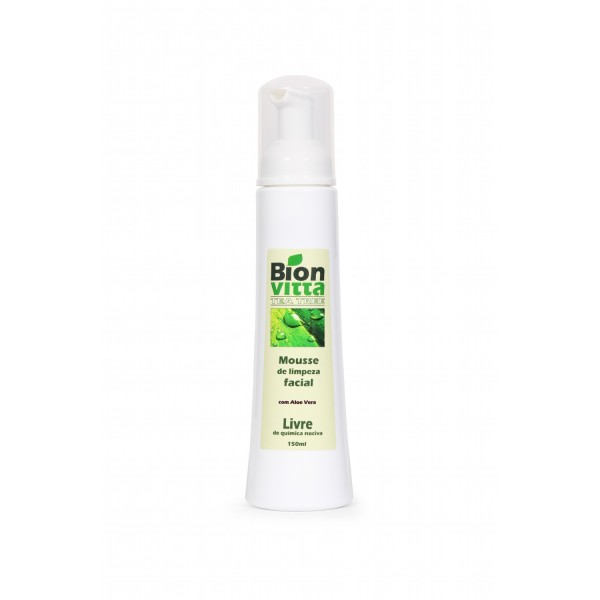 Mousse de Limpeza Facial Bion Vitta - 120ml