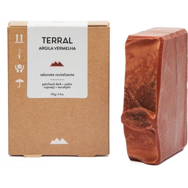 Sabonete Argila Vermelha - Terral Natural