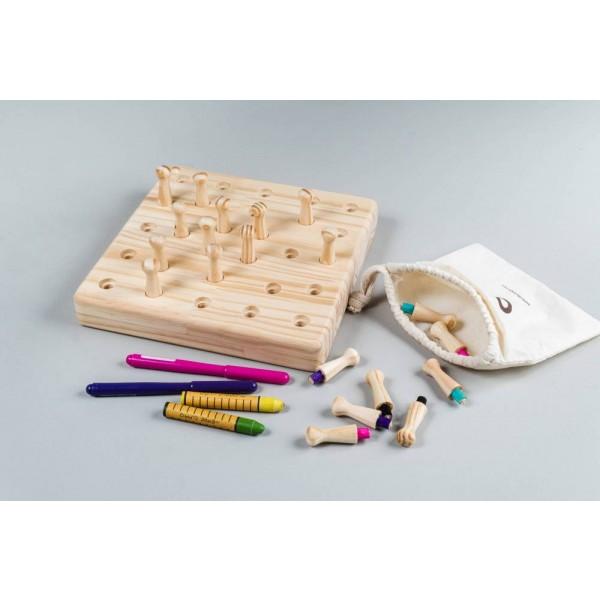 Jogo da memória - Quadrado Olly Toys