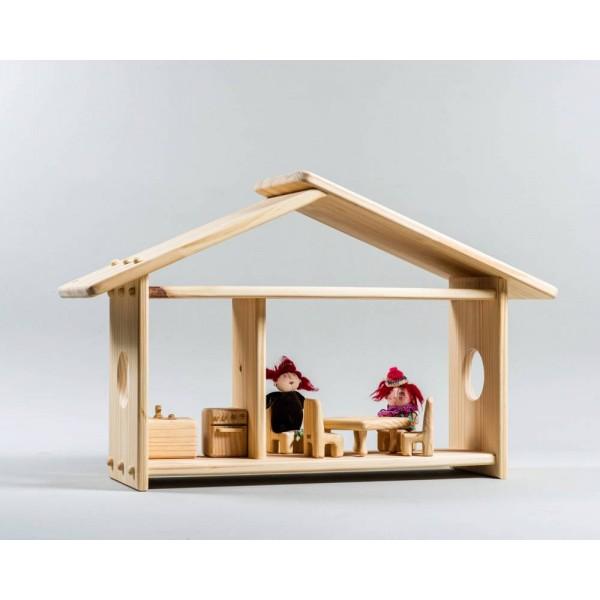 Casinha de boneca M- Olly Toys