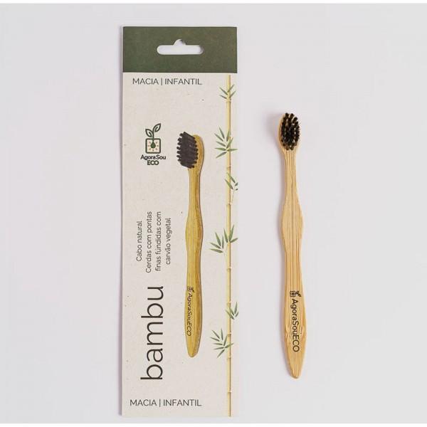 Escova de Dentes de Bambu Agora Sou Eco
