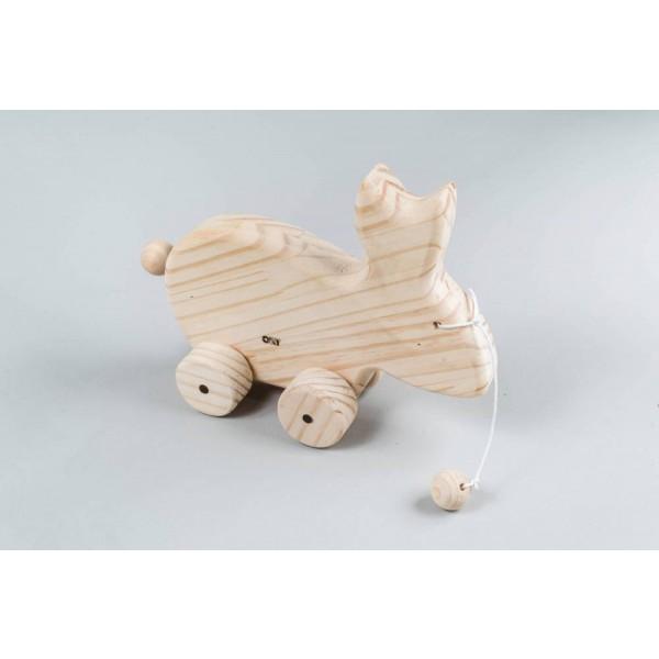 Coelho de Puxar - Olly Toys