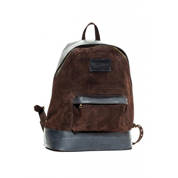 Mochila Brown Shammy Rubber - Recman