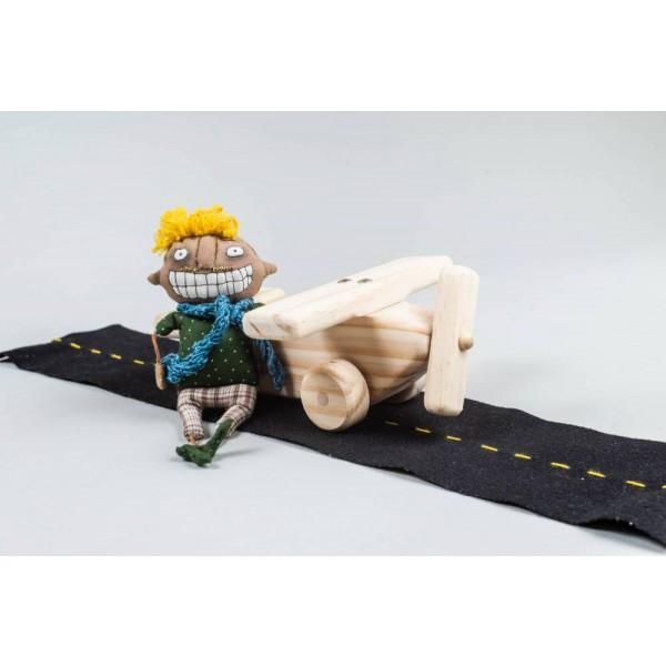 Avião de madeira - Olly Toys
