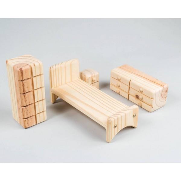 Quarto para casinha de boneca - Olly Toys