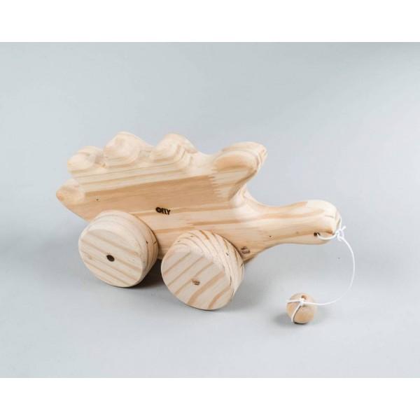 Porco Espinho de Puxar - Olly Toys