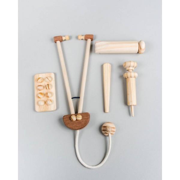 Kit Profissional da Saúde: médico, enfermeiro - Olly Toys