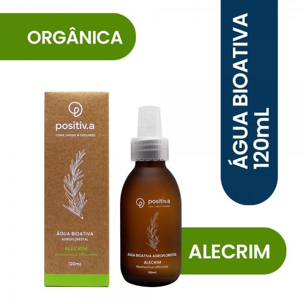 Água Bioativa Alecrim 120 ml Positiv.a