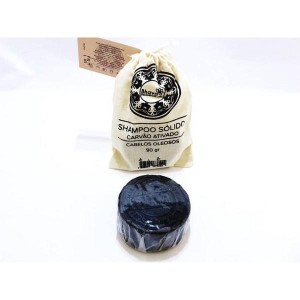 Shampoo Sólido Natural Cabelos Oleosos 90 g Bhava