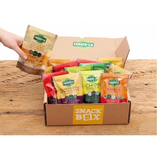 (TESTE) Snackbox Farofa.La