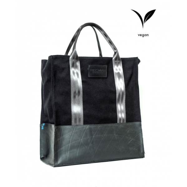 Bolsa Black Shopping Bag - Recman