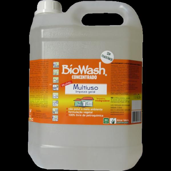Multiuso Concentrado Limpeza Geral 5Lts BioWash