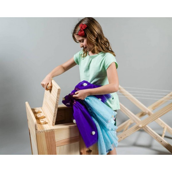 Máquina de Lavar Roupas de Boneca - Olly Toys