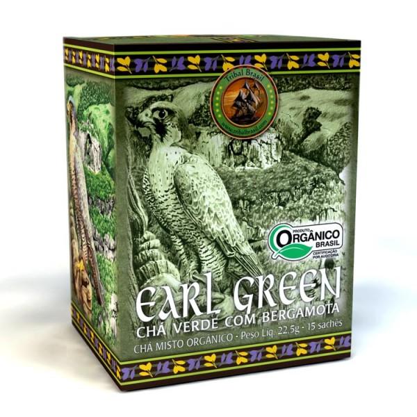 Chá Tribal Brasil - Earl Green - Sachê (15 sachês)