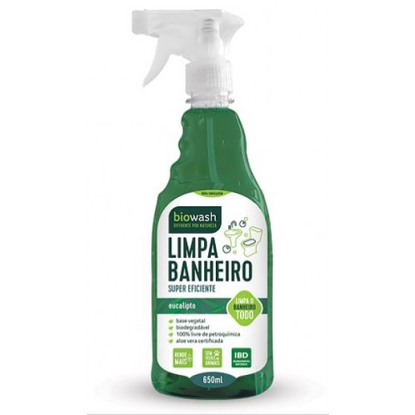 Limpa banheiro 650 ml Biowash