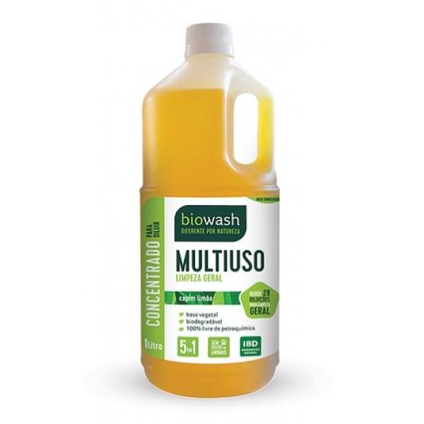 Multiuso concentrado capim limão 1 litro Biowash