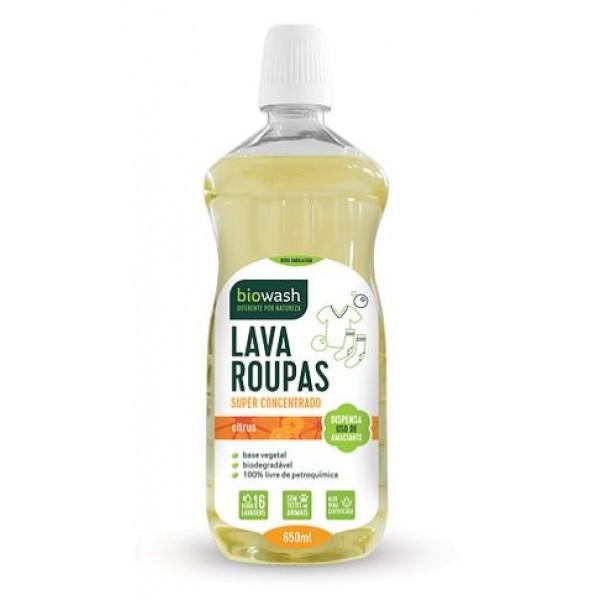 Lava-roupas citrus 650ml Biowash