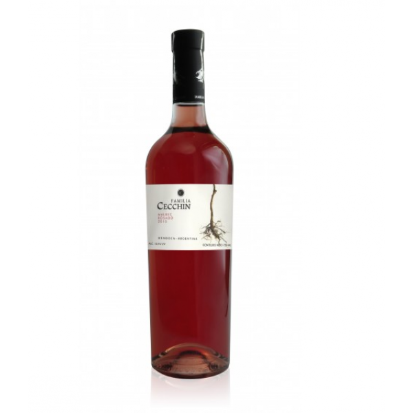 Vinho Orgânico Malbec Rosé - Família Cecchin