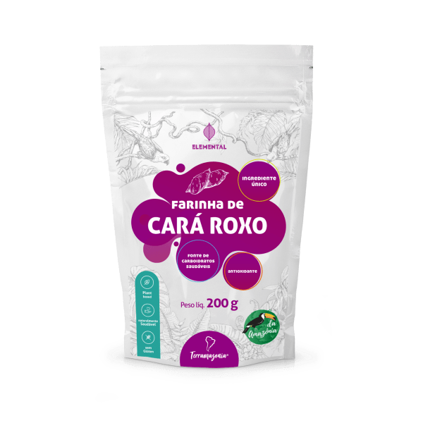 Farinha de Cara Roxo Terramazonia Superplants 200g