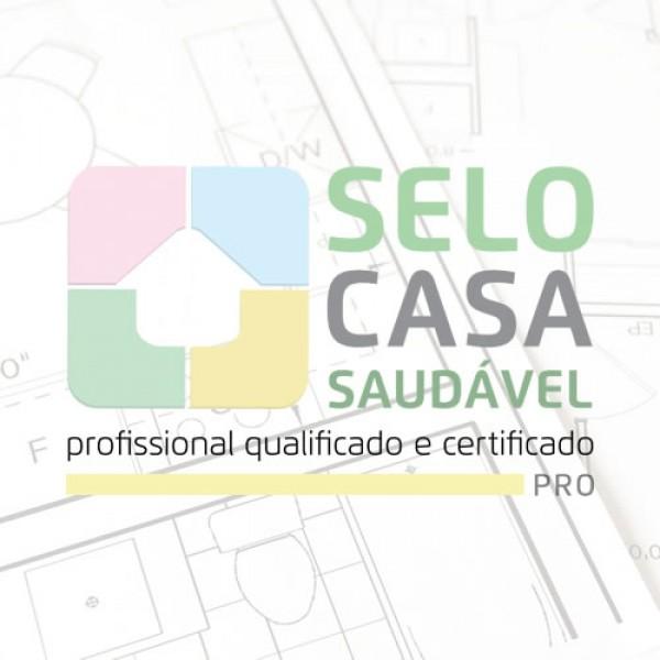 Curso on-line de certificação em Selo Casa Saudável PRO