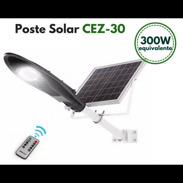 Poste Energia Solar LED CEZ-30