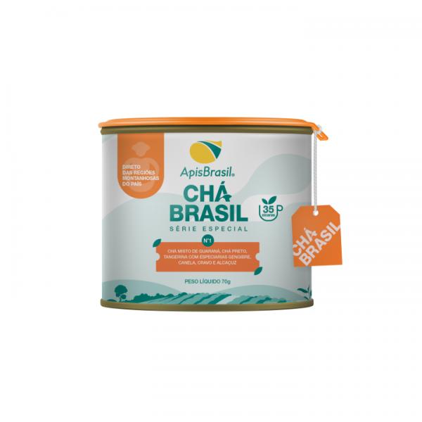 Chá Brasil N°1: Mais Energia Apis Brasil