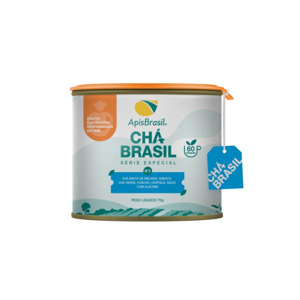 Chá Brasil N°3: Anti-Stress Apis Brasil