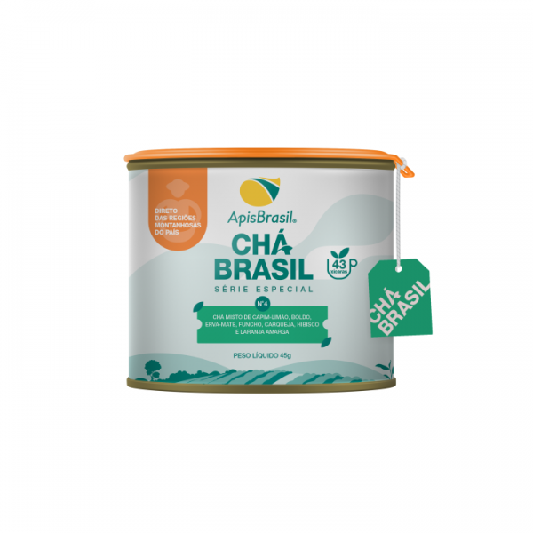 Chá Brasil N°4: Boa Digestão Apis Brasil