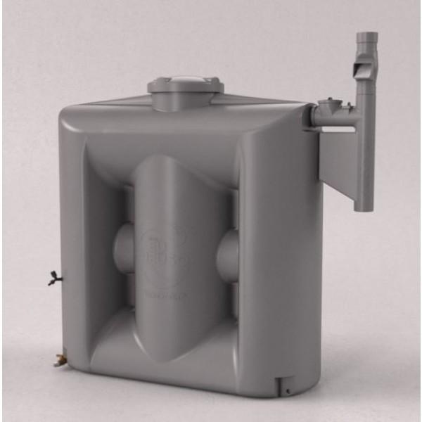 Cisterna 1000 litros cinza com filtro - Envio para RS
