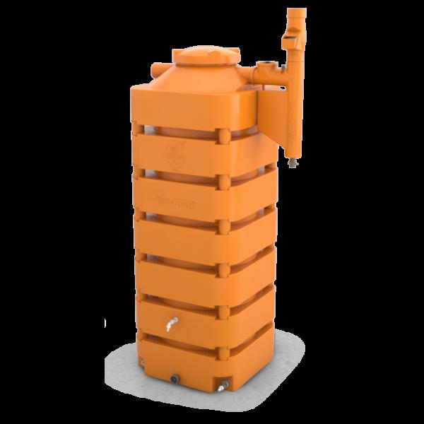 Cisterna Vertical 1050 Laranja