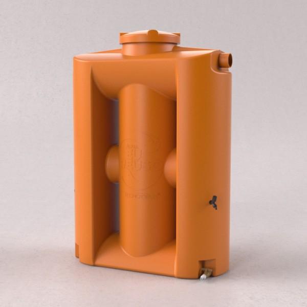 Cisterna 600 litros laranja