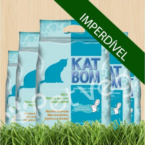 Granulado Sanitário Biodegradável Tradicional - 6 pacotes