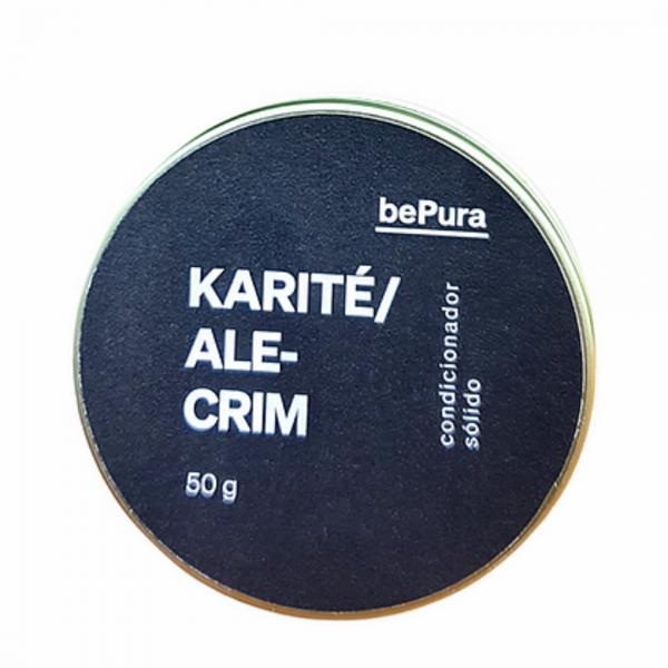 Condicionador sólido Karité/Alecrim Be Pura