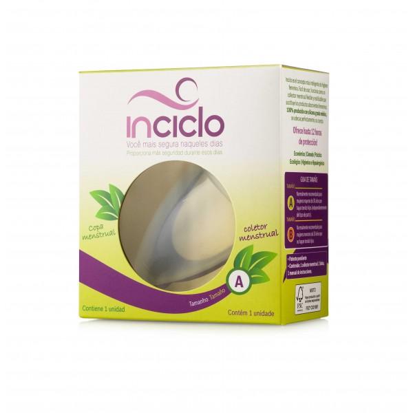Copo Coletor Menstrual de uso interno.