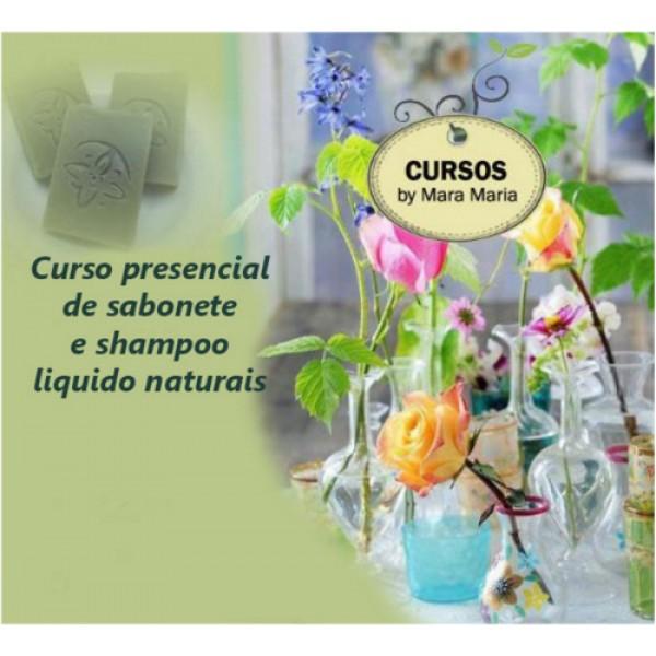 Curso Presencial de Sabonete e Shampoo Liquido Naturais