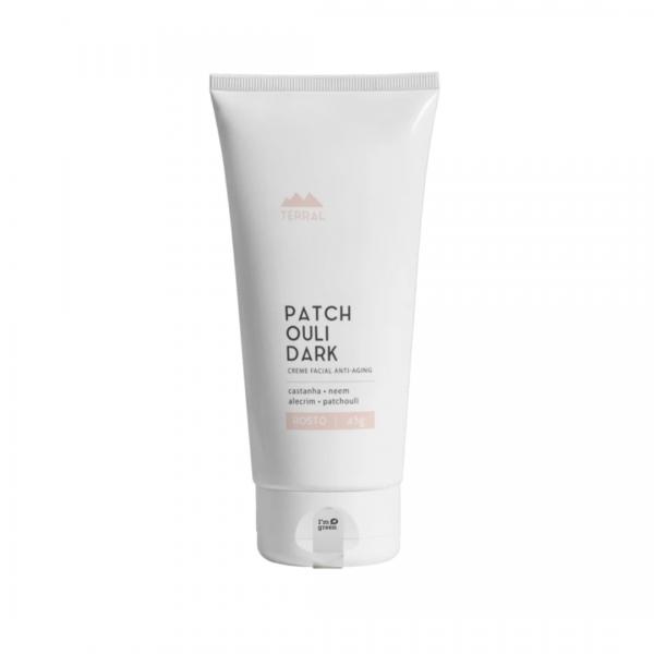 Creme Facial Patchouli Dark - Terral Natural