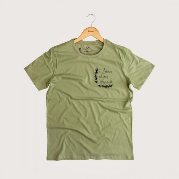 Camiseta Alecrim - 100% Algodão Orgânico Verde Agora Sou Eco