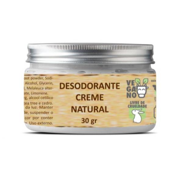 Desodorante creme natural bhava