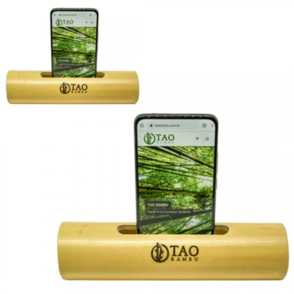 Kit 2 Caixas de Som Rústicas - Tao Bambu