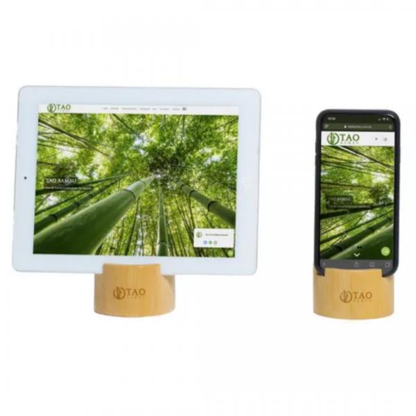 Kit 2 Apoios de celular - Tao Bambu