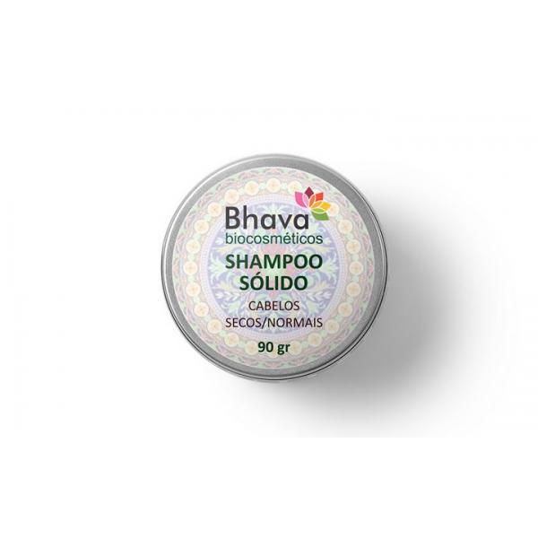 Shampoo Sólido Natural para Cabelos Secos