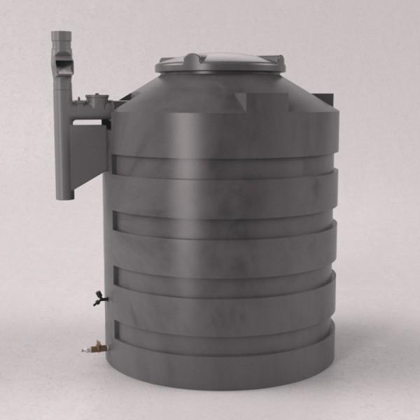 Cisterna Eco Vertical 1100 Litros com Filtro
