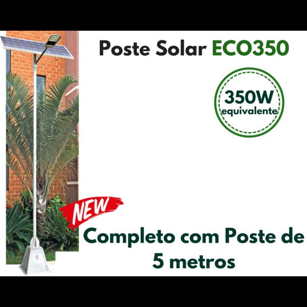Poste Energia Solar LED ECO-350