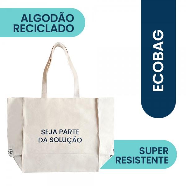 Ecobag Algodão Reciclado Positiva