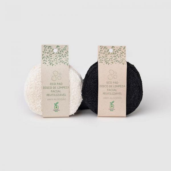 Eco Pads | Discos de algodão para limpeza