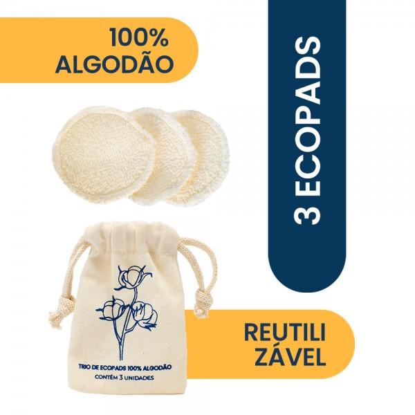 Trio Ecopad 100% Algodão Positiv.a
