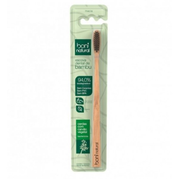 Escova dental de bambu
